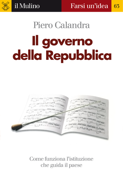 Cover Il governo della Repubblica