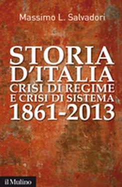 copertina Storia d'Italia, crisi di regime e crisi di sistema
