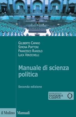 copertina Manuale di scienza politica