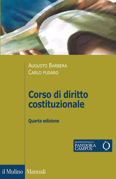 Cover Corso di diritto costituzionale