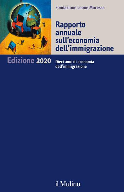 Cover Rapporto annuale sull'economia dell'immigrazione. 2020